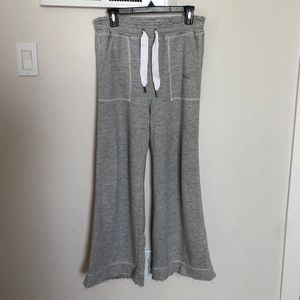 Abercrombie and fitch wide leg joggers